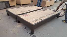 New double bed without box king size 6fit by 6fit