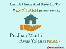 1bhk flats for sale in vijayawada with 90%SBI Loan & 2.67*L Subsidy.