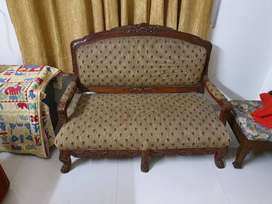 Sofa 3 seater wooden