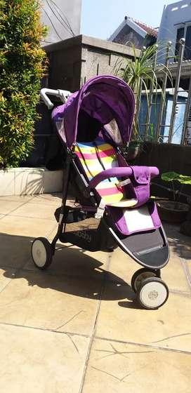 Prolobed : Stroller Merk seebaby kondisi bagus