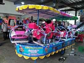 wahana mainan anak kereta mini panggung odong odong BARU 11 free DP
