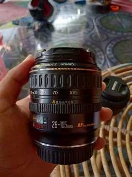 Lensa Canon EF 28-105mm ultrasonic (fullframe)