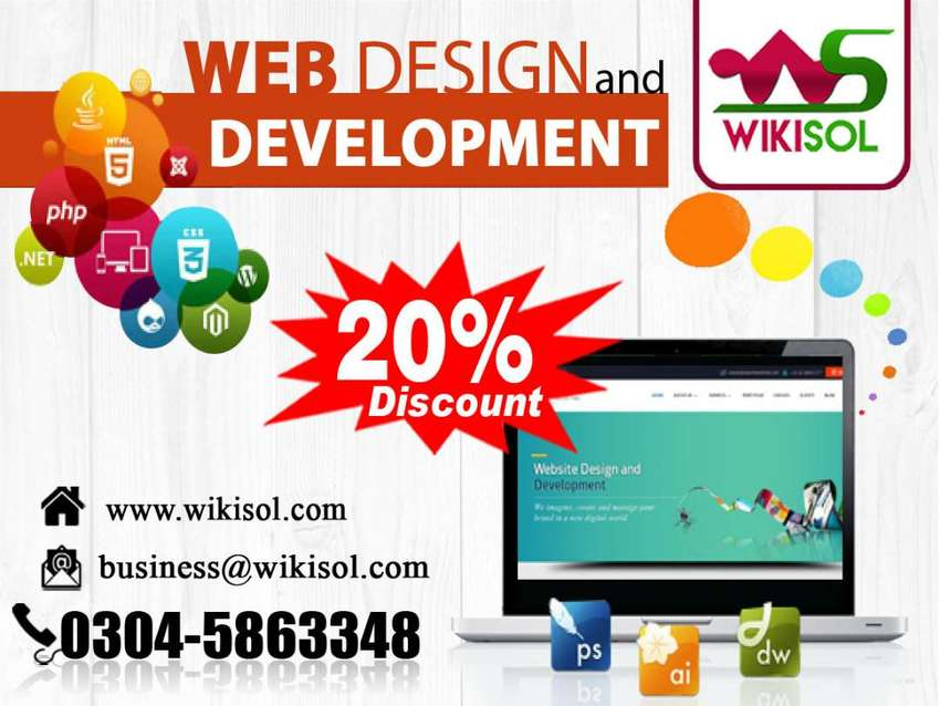 Web design || Web development || eCommerce Online website Rawalpindi 0