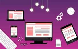 Web designer, editing