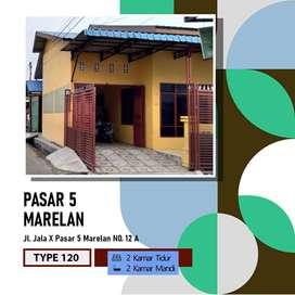 Rumah Lokasi Strategis Di Medan Marelan