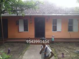 For sale 4.6 cents of land with house at pallichal road  bike entrance