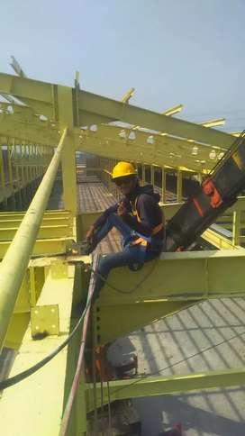 Jasa kerja kontruksi baja