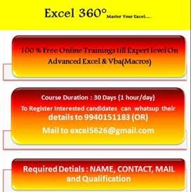 Advanced excel & vba(macros)