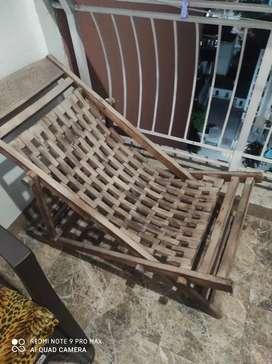 Rest chair.. Wooden..