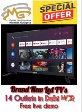 """best offer on : -smart led tv 40"""" inch 1 year warranty call now"""