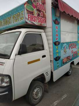 Food van for sale, 2017 model, maruti super carry