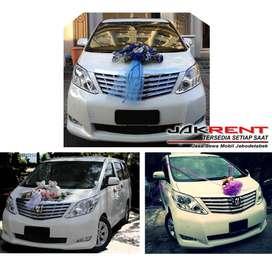 Mobil Pengantin/Wedding Car ( New Alphard )