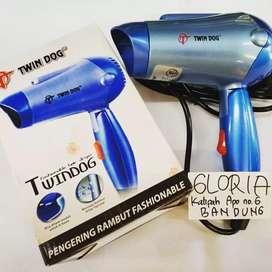 Pengering Rambut Hair Dryer bisa dilipat utk traveling mudah dibawa