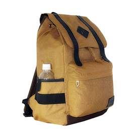 Tas Ransel Estilo / Laptop / Backpack Pria Wanita Vintage + Raincover