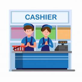 Cashier at retail store