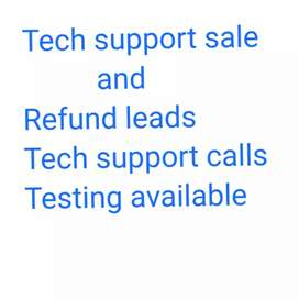 Tech support leads
