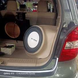 EXOtic car,// box sudut Livina 12 inc
