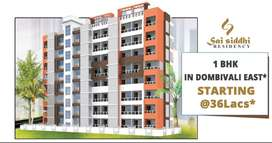 1 bhk flats in Dombivli East - Sai Siddhi Residency Property Dombivali