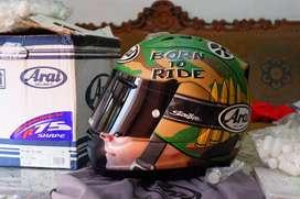 Helm arai rx7 RR5 nicky hayden limited SIZE M DARK FLAT VISOR