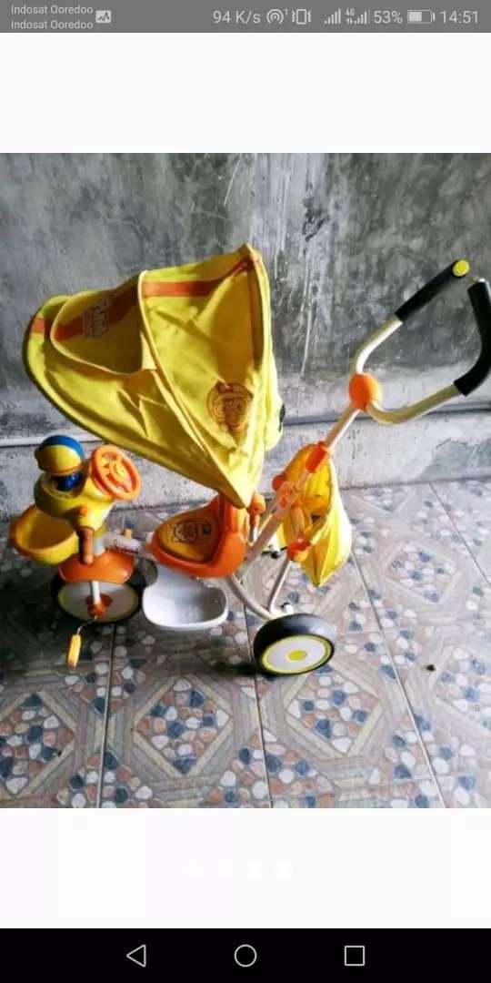 Sepeda roda 3 karakter pororo 0