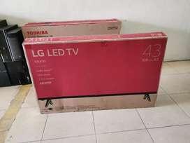 tv LED LG 43 inci baru
