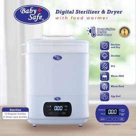 Baby safe digital sterilizer & Dryer garansi 1 tahun reasi babysafe