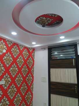 2 bhk semi furnished ground floors with two wheeler parking
