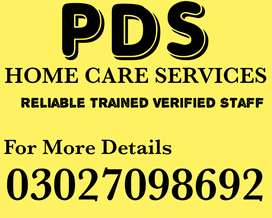 (PDS) Trained Verified Domestic Staff or Office Staff