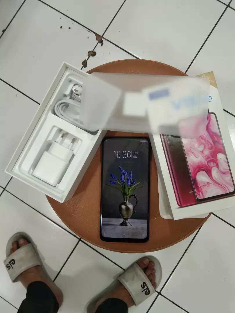 jual cepet vivo v15 fullset like new no minus 0