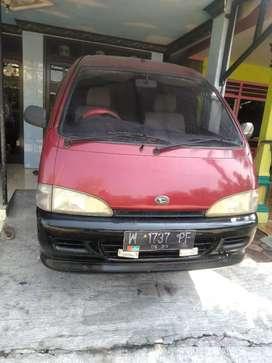 Mobil Daihatsu espass th 1995 plat W sidoarjo kota