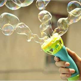 Bubble Gun Mainan Gelembung Sabun Automatic