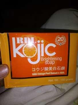 Sabun Kojic Brightening best soap for acne skin prone
