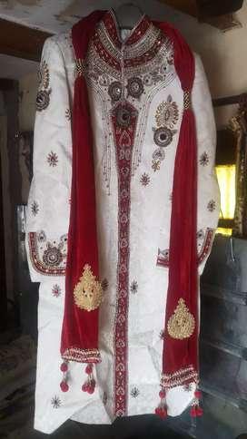 Shervani size 42 with stall(Dupatta)6000