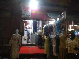 Sale new ladies garment shop