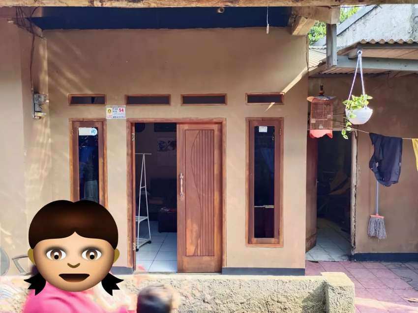 Rumah kampung murah 350 jt,luas tanah besar 0