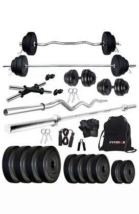 Gym weights and bench (Price-6500)