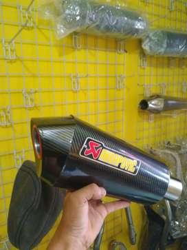 Knalpot AkraPovic for Nmax,Aerox,PCX,CB,CBR 150/250,VIXION,SATRIAFU