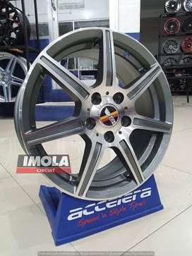 Pelek racing terbaru R16 HSR Danke Ring 16 Grandmax Luxio Mercy Rush