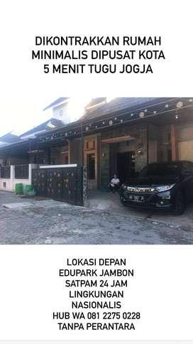 Rumah Dikontrakan di Pusat KOTA YOGYAKARTA