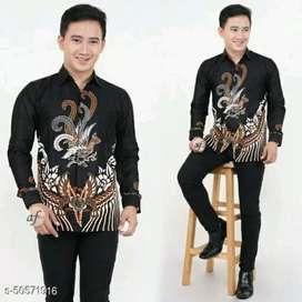 batik Pekalomgan ukuran M L XL