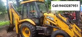 JCB 3DX (Front and back loader)