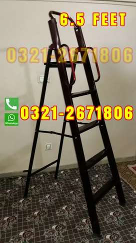 IRON  MOVABLE LADDER 6.5 FT
