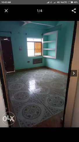 3 rooms with attached lat-bathroom for Rs 8000
