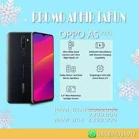 Dijual Oppo A5 2020 Cash/Kredit