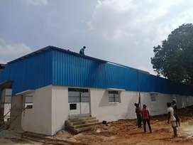 CHENNAI ROOF SHED WORK IS AT UR BUDGET,
