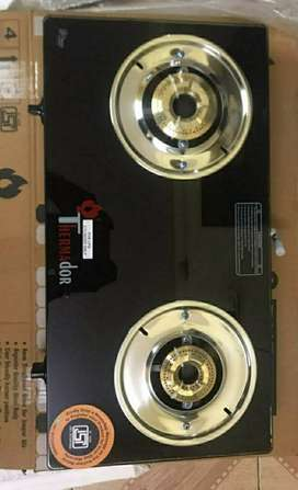 Rupees 8000 gas stove brand new sealed pack burnee