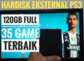 HDD 120GB Terjangkau Mrh FULL 35 GAME FAVORITE PS3 Siap Dikirim