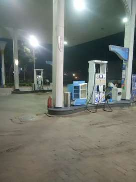 Counter man on petrol pump B.p.c.p