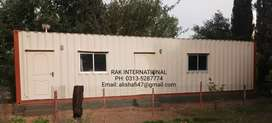 Office container Porta cabin security &check post cabin class room etc