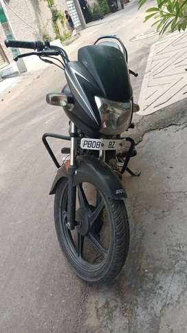 A very good condition passion bike first owner
